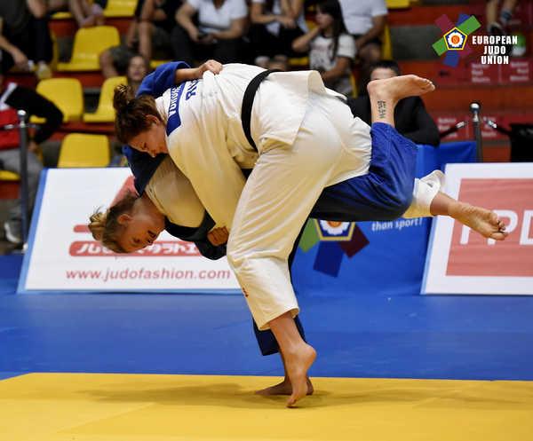 3. Platz bei den European Cup Bratislava für Julie Hoelterhoff