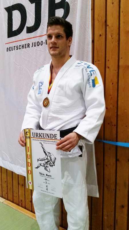 Bundesligakämpfer des KSV Esslingen erfolgreich bei der Deutschen Pokalmeisterschaft im Judo