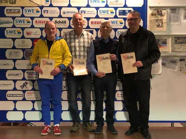 Der KSV ehrt Mitglieder für langjährige Vereinstreue!