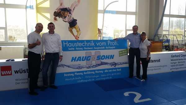 Esslinger Traditionsunternehmen Haug & Sohn wird neuer Sponsor beim KSV Esslingen