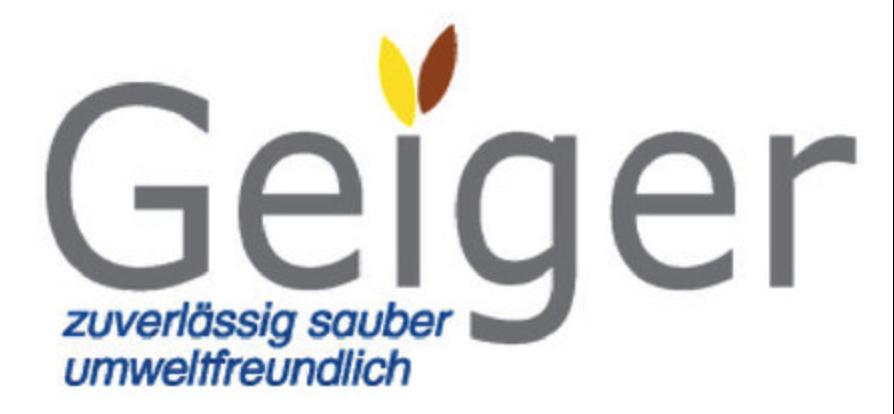 Geiger Behälter- u. Außenreinigung