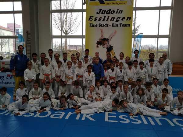 Judostars zum Anfassen beim Bundesliga-Opening des KSV Esslingen