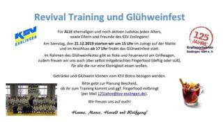 Revival Training und Glühweinfest 2019