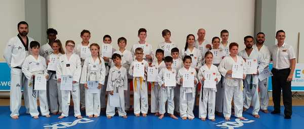 Taekwondo KUP – Prüfung