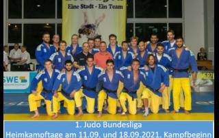 1. Judo Bundesliga 2021 - Heimkämpfe
