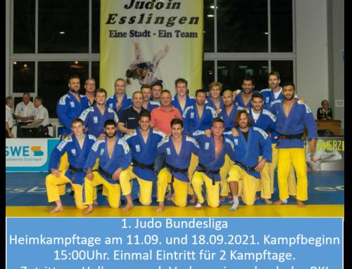 1. Judo Bundesliga 2021 – Heimkämpfe