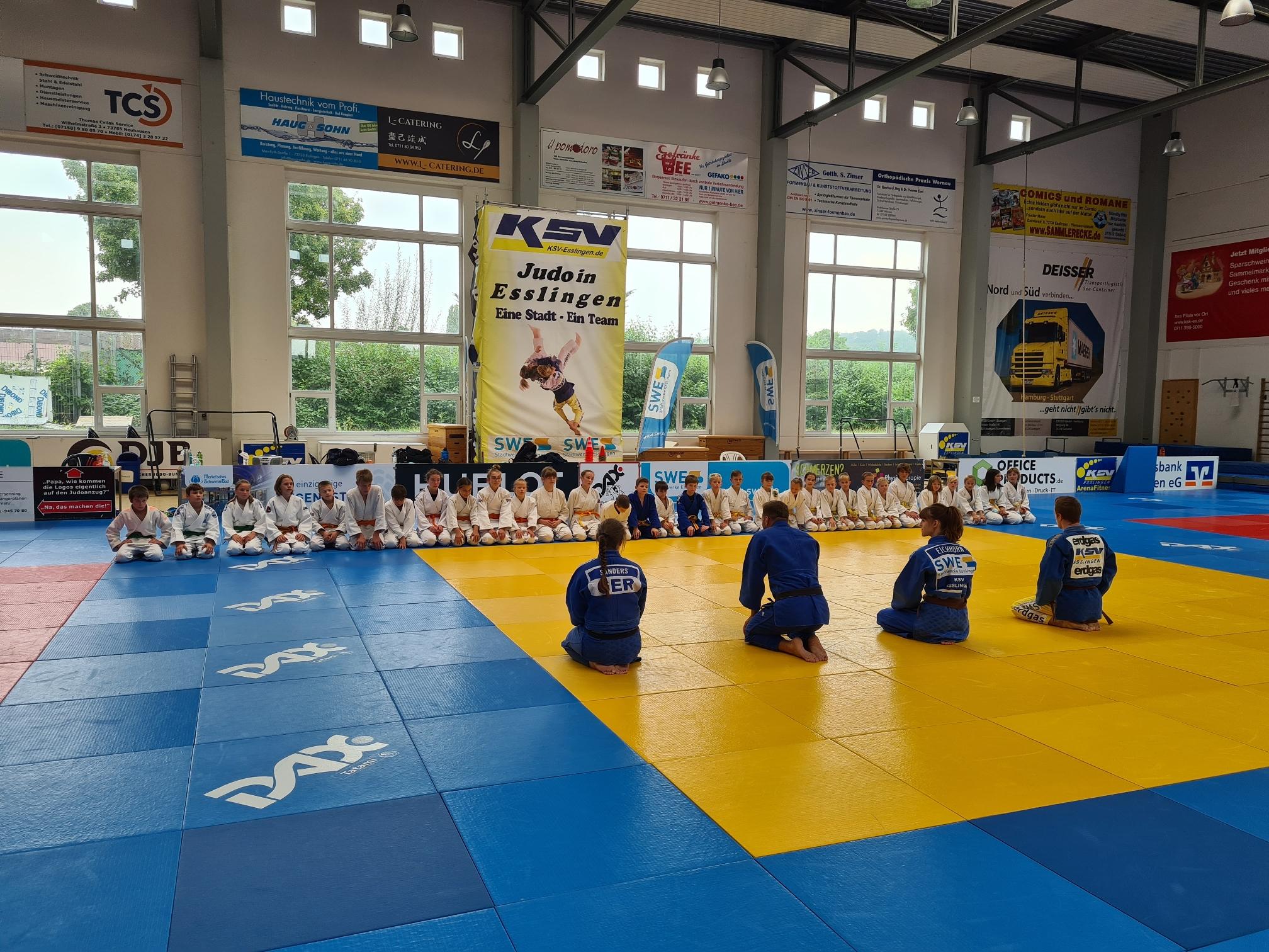 Ippon Girls - Power Boys Lehrgang beim KSV Esslingen